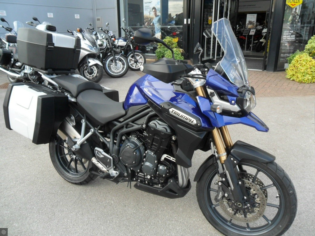 triumph tiger explorer 1200 for sale in chesterfield. Black Bedroom Furniture Sets. Home Design Ideas
