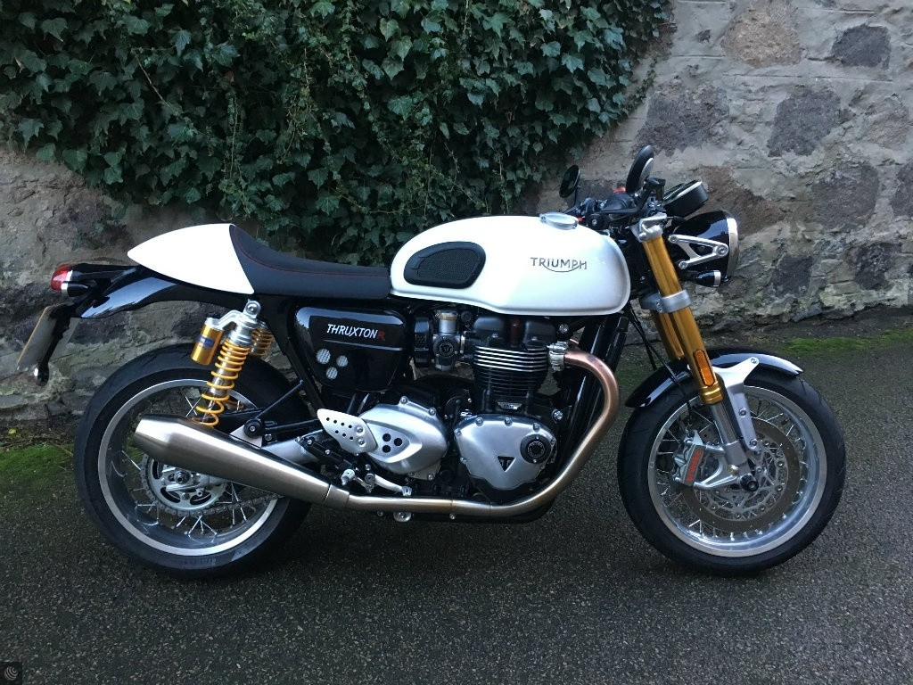 triumph thruxton 1200 r for sale in aberdeen scotland. Black Bedroom Furniture Sets. Home Design Ideas